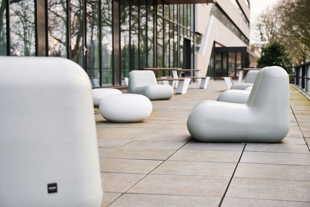 Durbanis furniture at the Coty Busines Center, Amsterdam